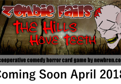 Zombie Fails: The Hills Have Teeth is in Final Approval Stages!